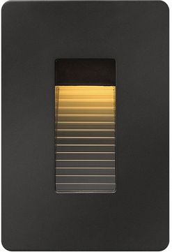 Hinkley 58504SK3K Luna Contemporary Satin Black LED Exterior Step Lighting