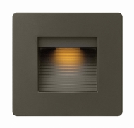 Hinkley 58506BZ Luna Contemporary Bronze LED Exterior Light Sconce