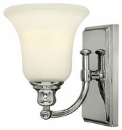 Hinkley 58780CM Colette Transitional 8 Inch Tall Chrome Finish Lamp Sconce