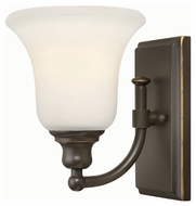 Hinkley 58780OZ Colette Oil Rubbed Bronze Finish 6 Wide Wall Lighting Fixture