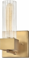 Hinkley 5970HB Xander Contemporary Heritage Brass Wall Sconce Light