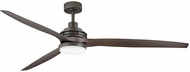 Hinkley 900172FMM-LWD Artiste Metallic Matte Bronze LED 72  Ceiling Fan