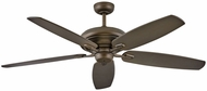 Hinkley 900660FMM-NID Grander Metallic Matte Bronze 60  Ceiling Fan