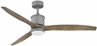 Hinkley 900760FGT-LWD Hover Graphite LED 60  Ceiling Fan