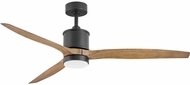 Hinkley 900760FMB-LWD Hover Matte Black LED 60  Home Ceiling Fan