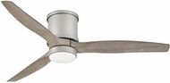 Hinkley 900852FBN-LWD Hover Flush Brushed Nickel LED 52  Ceiling Fan