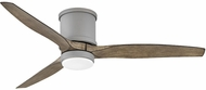 Hinkley 900852FGT-LWD Hover Flush Graphite LED 52  Home Ceiling Fan