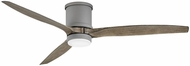 Hinkley 900860FGT-LWD Hover Flush Graphite LED 60  Ceiling Fan