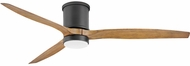 Hinkley 900860FMB-LWD Hover Flush Matte Black LED 60  Home Ceiling Fan