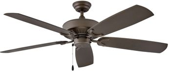Hinkley 901660FMM-NWA Oasis Metallic Matte Bronze 60  Ceiling Fan