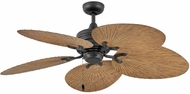 Hinkley 901952FMB-NWD Tropic Air Matte Black 52  Home Ceiling Fan