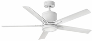 Hinkley 902152FMW-LWD Vail Contemporary Matte White LED 52 Ceiling Fan