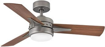 Hinkley 902844FPW-LIA Ventus Pewter LED 44  Ceiling Fan
