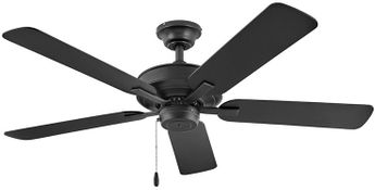 Hinkley 903352FMB-NWA Metro Matte Black LED 52  Ceiling Fan