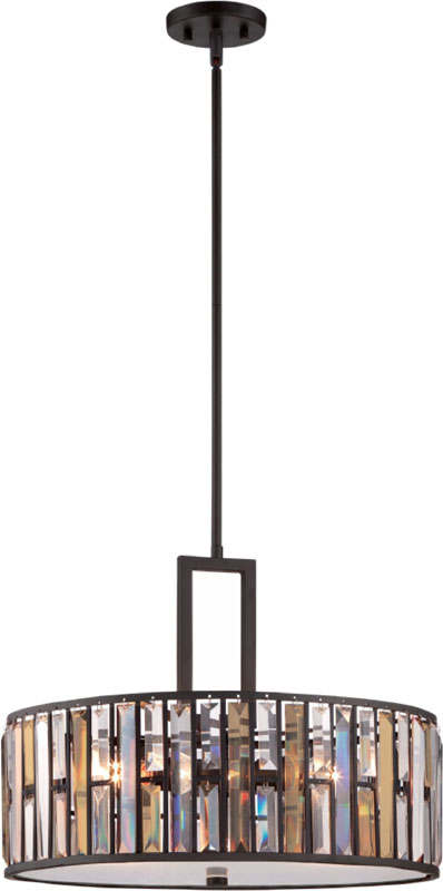 Hinkley FR33735VBZ Gemma Modern Vintage Bronze Drum Hanging Light ...