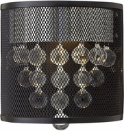 Hinkley FR38900BLK Fiona Modern Black Lamp Sconce