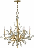 Hinkley FR46806CPG Eve Champagne Gold Chandelier Light