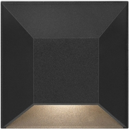 Hinkley Landscape 15222BK Nuvi Modern Black LED Exterior Step Lighting