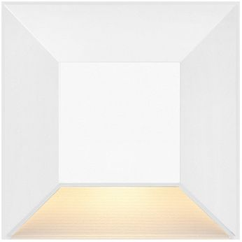 Hinkley Landscape 15222MW Nuvi Contemporary Matte White LED Exterior Step Lighting