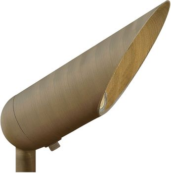 Hinkley Landscape 1535MZ Hardy Island Modern Matte Bronze Outdoor Flood Lamp