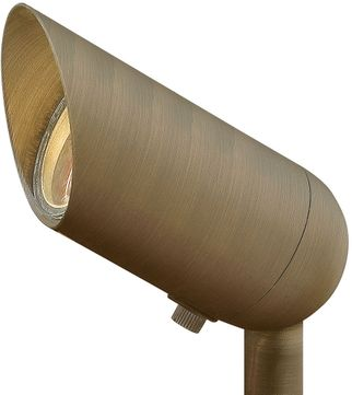 Hinkley Landscape 1536MZ-XXXX Hardy Island Lumacore Modern Matte Bronze LED Exterior Flood Lighting