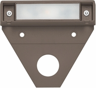 Hinkley Landscape 15444BZ-10 Nuvi Modern Bronze LED Outdoor Small Deck Sconce (pack of 10)