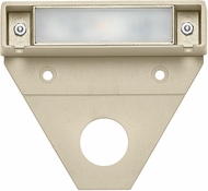Hinkley Landscape 15444ST-10 Nuvi Modern Sandstone LED Exterior Small Deck Sconce (pack of 10)