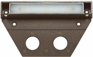 Hinkley Landscape 15446BZ-10 Nuvi Modern Bronze LED Exterior Medium Deck Sconce (pack of 10)