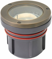 Hinkley Landscape 15702MZ Flat Top Well Light Modern Matte Bronze LED Exterior Flat Top Well Light