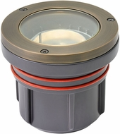 Hinkley Landscape 15702MZ-XXXX Flat Top Well Light Modern Matte Bronze LED Outdoor Flat Top Well Light