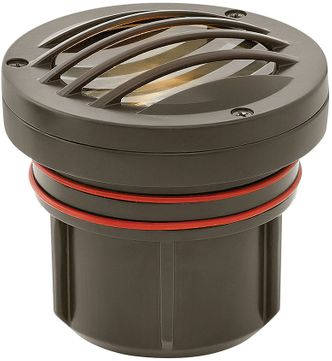 Hinkley Landscape 15705BZ-XXXX Grill Top Well Light Contemporary Bronze LED Outdoor Grill Top Well Light
