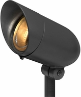 Hinkley Landscape 54000BK Line Voltage Spot Modern Black Outdoor Line Voltage Spot Light