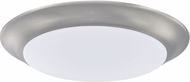 Home Place 223611BN-LD30 Brushed Nickel LED 7.5  Ceiling Light Fixture