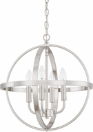 Home Place 317541BN Brushed Nickel 16.5  Pendant Hanging Light