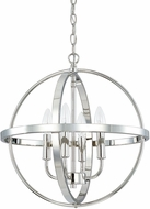 Home Place 317541PN Polished Nickel 16.5  Drop Ceiling Lighting