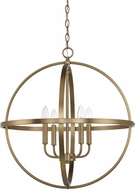 Home Place 317542AD Aged Brass 23 Ceiling Pendant Light