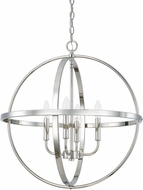 Home Place 317542PN Polished Nickel 23 Pendant Light