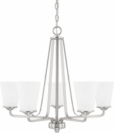 Home Place 414151BN-331 Braylon Brushed Nickel Chandelier Lighting