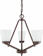 Home Place 414431BZ-334 Baxley Bronze Mini Hanging Chandelier