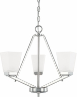 Home Place 414431PN-334 Baxley Polished Nickel Mini Chandelier Light