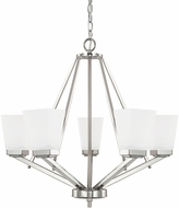 Home Place 414451PN-334 Baxley Polished Nickel Chandelier Lamp
