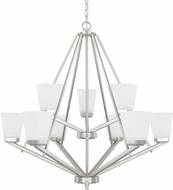 Home Place 414491BN-334 Baxley Brushed Nickel Chandelier Light