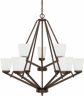 Home Place 414491BZ-334 Baxley Bronze Ceiling Chandelier