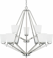 Home Place 414491PN-334 Baxley Polished Nickel Hanging Chandelier