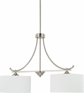 Home Place 816121BN-663 Island Brushed Nickel Island Lighting