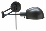 House of Troy AD425-OB Addison Pharmacy Style Swing Arm Wall Lamp - Oil Rubbed Bronze