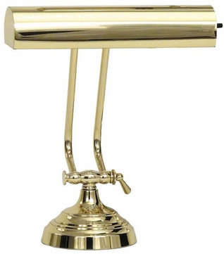House of Troy AP102161 AP10-21 Advent Piano Lamp in Polished Brass