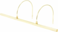 House of Troy APL25-61 Advent Polished Brass LED Art Lamp