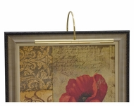 House of Troy APR16-61 Advent Polished Brass Finish 16 Inch Wide Picture Light