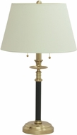 House of Troy B550-BWB Bennington Black with Weathered Brass Table Light